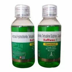 Plastic Cough Syrup Kuffwon-T, Bottle Size: 100 ml, 10ML
