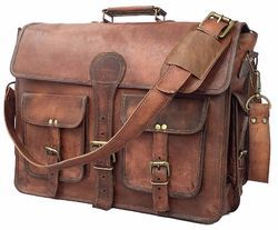 Leather Briefcase, Messenger Bag, Laptop Bag, Mens Leather Bag, Vintage Leather Bag