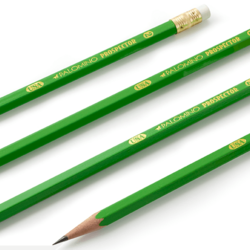 Green Grey Writing Wooden Pencil, Packaging Size: 10 Piece