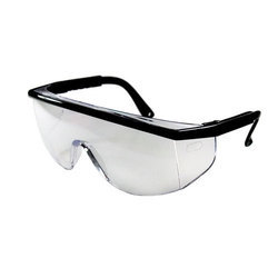 White Plastic Safety Goggle