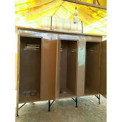 Three Seater FRP Toilet