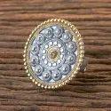 两张镀镀Indo Western Classic Ring 9915