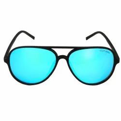 Aviator Aqua Lens Mercury Black Frame HR_113 For Men By Henry Richel