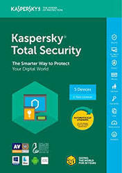 Kaspersky Total Security Software - 1 User, 1 Year (CD)