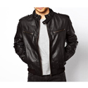 Mens Leather Full Sleeve Designer Jacket