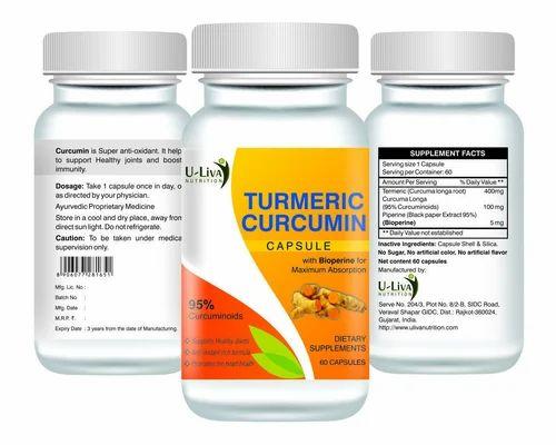 Turmeric Curcumin Capsule