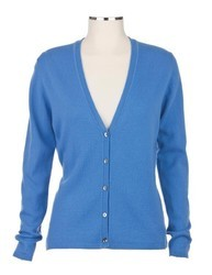 V Neck Ladies Woollen Cardigans