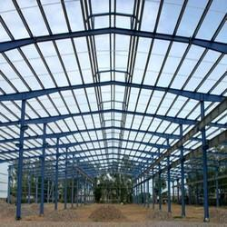 Industrial MS Shed Fabrication Service