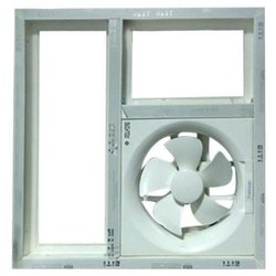 UPVC Louver With Exhaust Fan