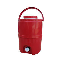 14 Liter Red Plastic Water Camper