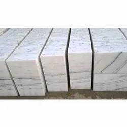 Greyish White Makrana Marble, Thickness: 10-15 mm, Kitchen Top,Floor