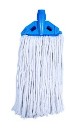 6 Inch Ruby White Cotton Mop