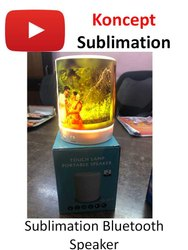 Sublimation Touch Lamp Portable Bluetooth Speaker