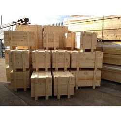 Edible Pine wood Wooden Packaging Box, for For Packing, Box Capacity: 1-200 Kg