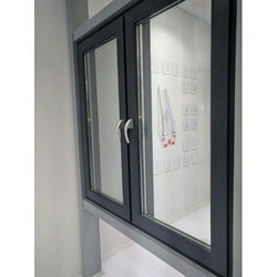 Powder Coated Aluminium Casement Window, For Home,Office