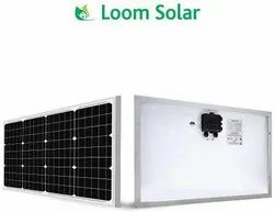 Loom solar Panel 50 watt - 12 Volt Mono crystalline