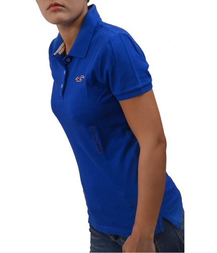 0881d3d0e Atsu Plain Hollister Women's/ Girl's Polo Collar T- Shirt, Rs 2665 ...