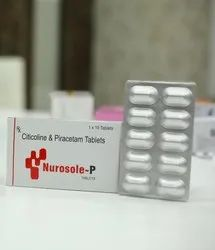 Tablet for Citicoline Piracetam