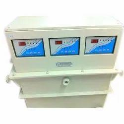 50 Watt Three Phase Servo Voltage Stabilizer, Capacity: 25 Kva, 280-480 V