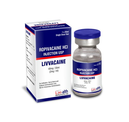 Neurology Drugs - Ropivacaine Hydrochloride Injection 40 mg