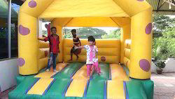 Inflatable Bouncer And Jumping