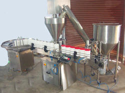 Automatic Jar Powder Filling Machine