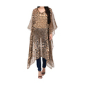 Ladies Cheetah Print Kaftan