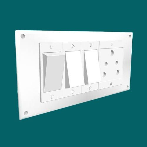 Home Electric Switchboard at Rs 80 /piece | Electric Switchboard ...