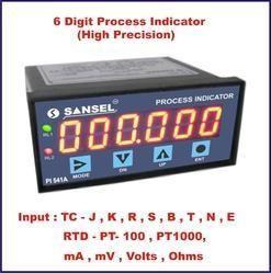Pi 541 A 6 Digit Process Indicator