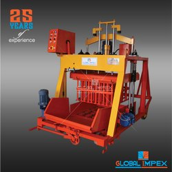 Block Machine For Building Construction
