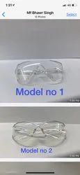 Transparent Plastic Glass, Size: Free