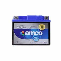 Amco ATZ4L Two Wheeler Battery, Warranty: 30 Months, Capacity: 3 Ah