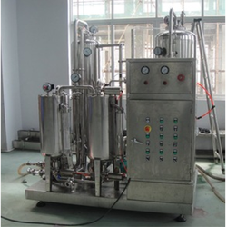 Juice Preparation Mixing System