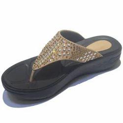 Ladies Synthetic Flip Flop Sandal, Size: 36-41