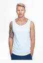 Simpe White Vest