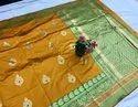 Banarasi Silk Meenkari Weaving Saree