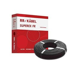 Pvc Black RR Kabel Electric Cable, Packaging Type: Roll