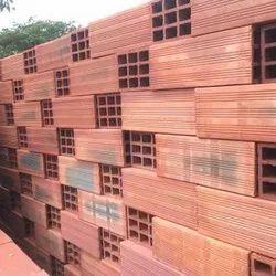 Rectangular Hollow Clay Bricks