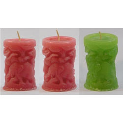 Animal Pillar Candle