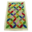 Multicolor Hand Tufted Carpet