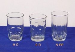 Transparent Glass Tumbler, For home hotel and restaurant, Capacity: 70-300 Ml