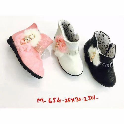 Girls Designer Half Boot, Short Boots