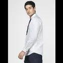 Green Hill Men's Designer White  Shirt