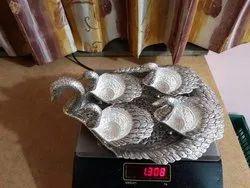Silver Duck Tray