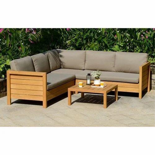Excellent Garden Furniture Wooden Garden Sofa Set Manufacturer From Creativecarmelina Interior Chair Design Creativecarmelinacom