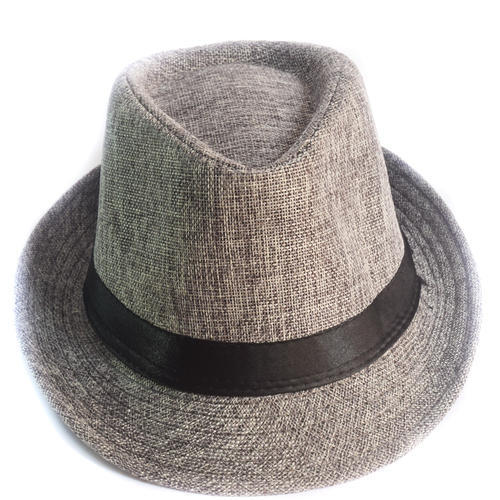9e1ab185051 Grey Men  s Fancy Hat