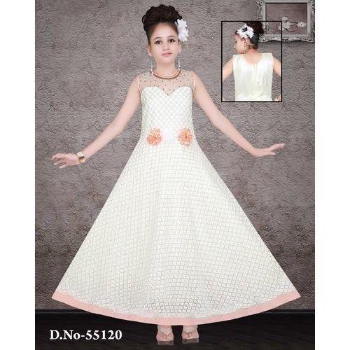13f93f8b4a4d7 White Wedding Wear Angle Baby Long Frock, Rs 470 /piece, AL Habib ...