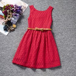 GRS Recycle Cotton Kids Designer Frocks