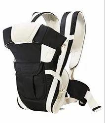 White,Blue & Black Polyester 4 In 1 Adjustable Baby Carrier Bag