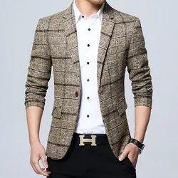 Super Cute Full Sleeves Mens Casual Blazer